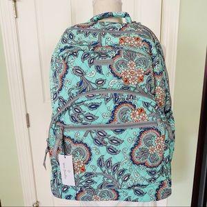Vera Bradley large essential backpack fan flowers